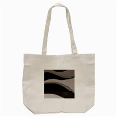 Black And Gray Design Tote Bag (cream) by Valentinaart