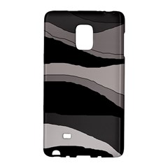 Black and gray design Galaxy Note Edge by Valentinaart