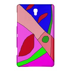 Pink Abstraction Samsung Galaxy Tab S (8 4 ) Hardshell Case  by Valentinaart
