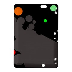 Colorful dots Kindle Fire HDX 8.9  Hardshell Case by Valentinaart