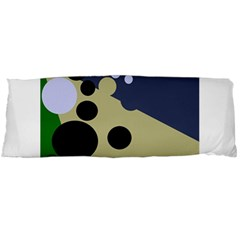 Elegant dots Body Pillow Case (Dakimakura) by Valentinaart