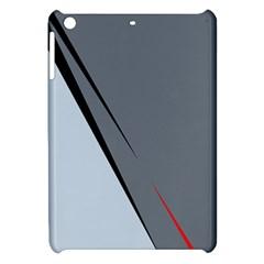 Elegant Gray Apple Ipad Mini Hardshell Case by Valentinaart