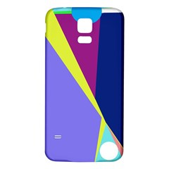 Geometrical abstraction Samsung Galaxy S5 Back Case (White)