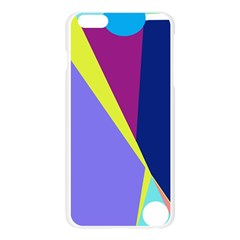 Geometrical abstraction Apple Seamless iPhone 6 Plus/6S Plus Case (Transparent) by Valentinaart