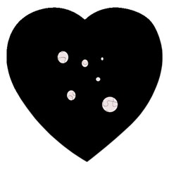 White dots Jigsaw Puzzle (Heart)