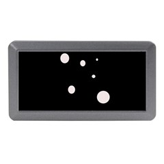 White dots Memory Card Reader (Mini) by Valentinaart