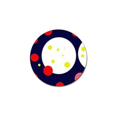 Abstract Moon Golf Ball Marker (10 Pack) by Valentinaart