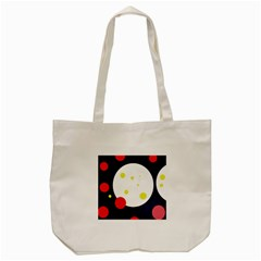 Abstract moon Tote Bag (Cream) by Valentinaart