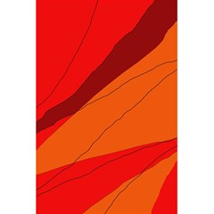 Red And Orange Decorative Abstraction 5 5  X 8 5  Notebooks by Valentinaart