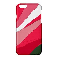 Pink Abstraction Apple Iphone 6 Plus/6s Plus Hardshell Case by Valentinaart