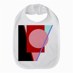 Decorative Geomeric Abstraction Bib by Valentinaart