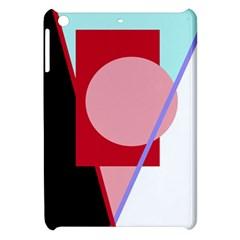 Decorative Geomeric Abstraction Apple Ipad Mini Hardshell Case by Valentinaart