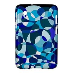Blue abstraction Samsung Galaxy Tab 2 (7 ) P3100 Hardshell Case