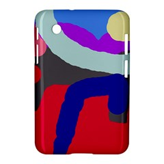 Crazy abstraction Samsung Galaxy Tab 2 (7 ) P3100 Hardshell Case