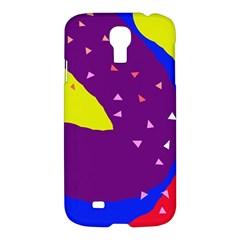 Optimistic Abstraction Samsung Galaxy S4 I9500/i9505 Hardshell Case by Valentinaart