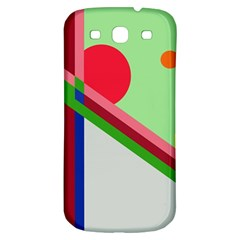 Decorative Abstraction Samsung Galaxy S3 S Iii Classic Hardshell Back Case by Valentinaart
