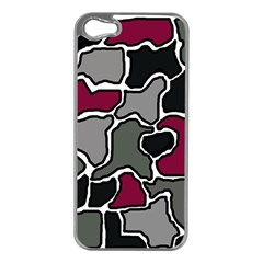 Decorative abstraction Apple iPhone 5 Case (Silver)