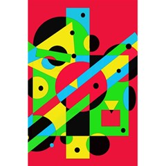 Colorful Geometrical Abstraction 5 5  X 8 5  Notebooks by Valentinaart