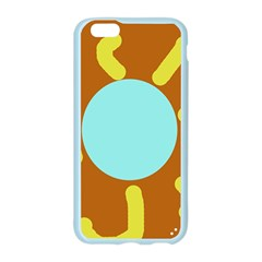 Abstract sun Apple Seamless iPhone 6/6S Case (Color) by Valentinaart