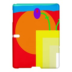 Colorful Abstraction Samsung Galaxy Tab S (10 5 ) Hardshell Case  by Valentinaart