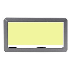 Yellow and blue simple design Memory Card Reader (Mini) by Valentinaart