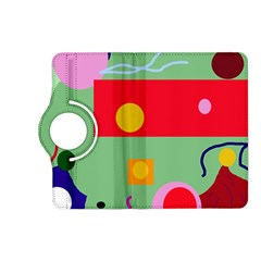 Optimistic Abstraction Kindle Fire Hd (2013) Flip 360 Case by Valentinaart