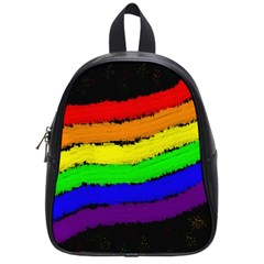 Rainbow School Bags (small)  by Valentinaart