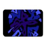 Deep blue abstraction Plate Mats