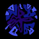 Deep blue abstraction Magic Photo Cubes