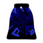 Deep blue abstraction Ornament (Bell)