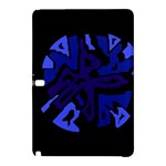 Deep blue abstraction Samsung Galaxy Tab Pro 12.2 Hardshell Case