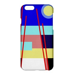 Abstract Landscape Apple Iphone 6 Plus/6s Plus Hardshell Case by Valentinaart