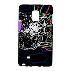 Neon Fish Galaxy Note Edge by Valentinaart