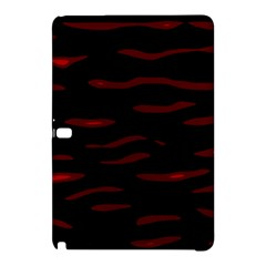 Red And Black Samsung Galaxy Tab Pro 10 1 Hardshell Case by Valentinaart