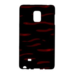 Red And Black Galaxy Note Edge by Valentinaart