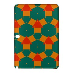 Honeycombs And Triangles Pattern                                                                                      samsung Galaxy Tab Pro 12 2 Hardshell Case by LalyLauraFLM