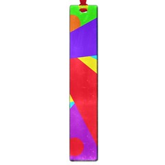 Colorful Abstract Design Large Book Marks by Valentinaart