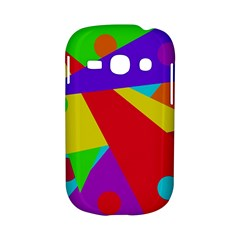 Colorful abstract design Samsung Galaxy S6810 Hardshell Case by Valentinaart