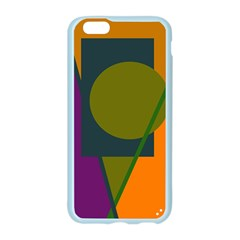 Geometric abstraction Apple Seamless iPhone 6/6S Case (Color) by Valentinaart