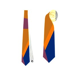 Geometric abstract desing Neckties (Two Side)  by Valentinaart