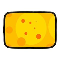 Abstract Sun Netbook Case (medium)  by Valentinaart