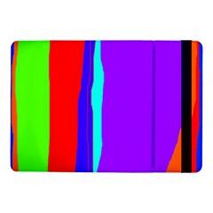 Colorful Decorative Lines Samsung Galaxy Tab Pro 10 1  Flip Case by Valentinaart