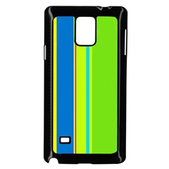 Colorful Lines Samsung Galaxy Note 4 Case (black) by Valentinaart