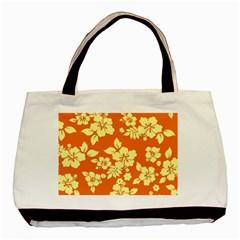 Sunny Hawaiian Basic Tote Bag (two Sides) by AlohaStore