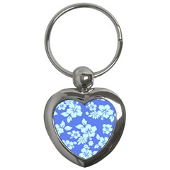 Hawaiian Sky Key Chains (heart)  by AlohaStore