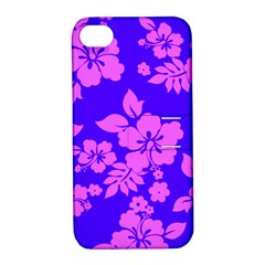 Hawaiian Evening Apple iPhone 4/4S Hardshell Case with Stand by AlohaStore