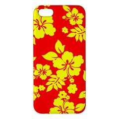 Hawaiian Sunshine Apple Iphone 5 Premium Hardshell Case by AlohaStore