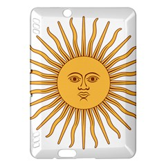 Argentina Sun Of May  Kindle Fire Hdx Hardshell Case by abbeyz71