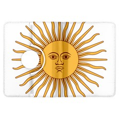 Argentina Sun Of May  Kindle Fire Hdx Flip 360 Case by abbeyz71