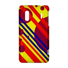 Hot circles and lines HTC Evo Design 4G/ Hero S Hardshell Case